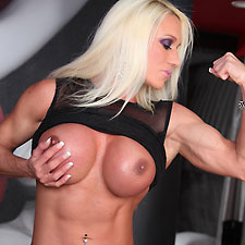 ashley chambers muscle pornstar and fitness goddess