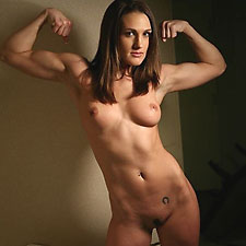 fitness muscle babe and former personal trainer misty anderson
